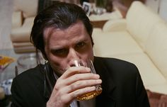 """"""" """"I hate to shatter your ego, but this is not the first time I've had a gun pointed at me."""" Pulp Fiction (1994) dir. Quentin Tarantino """""""