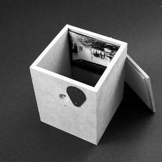 pinhole camera No.2 TIKI pinhole diameter 470 μ focal length 114 mm, F 243 / 130x130x160 mm material: wood (MDF), thick black paper, aluminium, XPS, battery powered clock. (that's why I called it TIKI, beacouse it's tiking. The internal mechanism is designed to capture the solar analema)