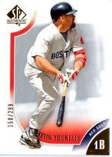 2009 UPPER DECK AUTHENTIC KEVIN YOUKLIS CARD #100 #'ED 150/299 in Sports Mem, Cards & Fan Shop, Cards, Baseball | eBay $0.01