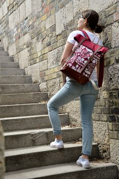 Unique bags and backpacks from quality materials. Manufactured in the heart of Europe. Wine Leaves, Heart Of Europe, Unique Bags, Canvas Leather, Leather Backpack, Backpacks, Leather Backpacks, Backpack, Backpacker
