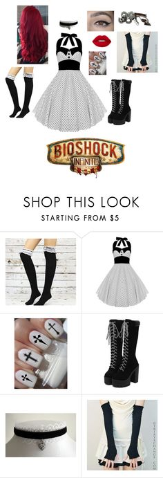 """A Trip To Columbia (Bioshock Infinite)"" by miaellis01 ❤ liked on Polyvore featuring Lime Crime, gaming, games, bioshock, bioshockinfinite and Columbia"