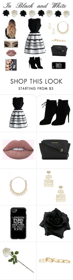 """""""Casual But Fancy"""" by beauty55 ❤ liked on Polyvore featuring Chicwish, Tom Ford, MICHAEL Michael Kors, Kendra Scott and Casetify"""
