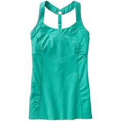 Peace Of Mind Cami - Light support for your practice comes with flattering front shirring and an adjustable skinny T-back strap to allow full range of arm motion in every pose.