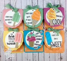Colour INKspiration Challenges, Cool Treats, Bronwyn Eastley, Stampin' Up!, #addinktivedesigns