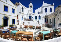 "De main square of Nikeia village, called ""Porta"" (means ""door"") square in Nisyros, Dodekanisos, South Aegean_ Greece"