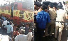 भोपाल : रेलवे स्टेशन के पास ट्रेन के इंजन में लगी आग, बुरी तरह झुलसा ड्राइवर