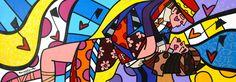 Buenos Aires - 58 x 167 cm – Acrylique sur toile