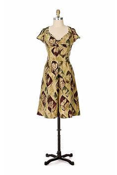 Rain Soaked Dress #anthropologie