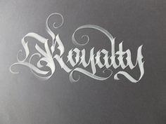 Calligraphy pack 2 / by Mateusz WLK Wolski, via Behance