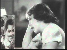 'DEAR MR GABLE' - ( 'YOU MADE ME LOVE YOU' ) sung by JUDY GARLAND. - Legendary star, Judy Garland sings to a photograph of Clark Gable in the film 'BROADWAY MELODY' 1938. She was 14 years old at the time.