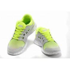 sale retailer 68701 b1acf Nike Free 5.0+ Unisex Lysgrå Grønn   Nike sko tilbud   Duty-free Nike sko  på nett   Nike sko nettbutikk norge   ovostore.com