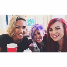 Moriah Peters Smallbone with Korey Cooper and Jen Ledger of Skillet Moriah Peters, Andy Mineo, Francesca Battistelli, Jen Ledger, Skillet Band, Christian Rock Bands, Contemporary Christian Music, Lauren Daigle, King And Country