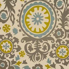 Suzani Summerland/Natural Solsta Sofa Bed Cover – Roozimsy