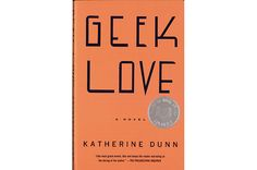 chip kidd. jacket for geek love by katherine dunn.