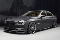mat black bmw 750i