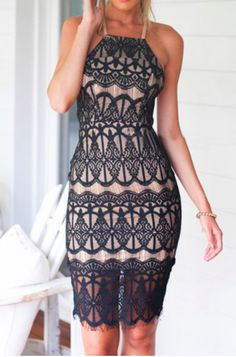 sexy summer lace // with laced-up back~