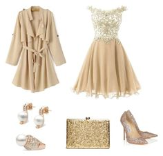 Untitled #549 by adancetovic on Polyvore featuring Jimmy Choo, pearljewelry and pearlparadise