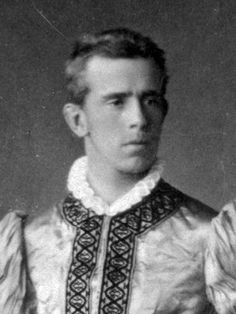 Photo of Rudolf, Crown Prince of Austria (1858-1889). He's known for committing suicide along with his mistress, Mary Vetsera. At the time, he was 30 years old, and she was 17.