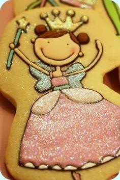 The TomKat Studio: {Sweet Treats} The Most ADORABLE Princess & Frog Cookies EVER!