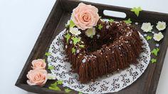 Koko Suomi leipoo -ohjelmassa Maria yhdisteli appelsiinia ja suklaata kakussaan.