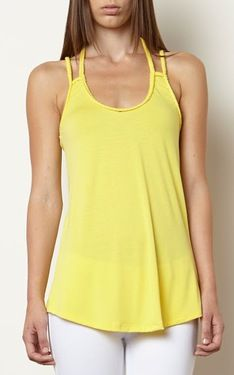 Magdalene Braided Tank-Citron by Wildlife Works