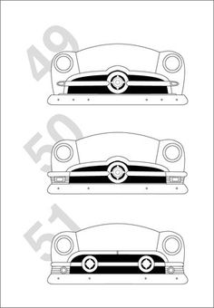 How to identify the Ford shoebox ford cars by the front end variations 1949 1950 1951 Car Ford, Ford Trucks, Auto Ford, Ford Classic Cars, Old Fords, Lead Sled, Us Cars, Ford Motor Company, Shoe Box