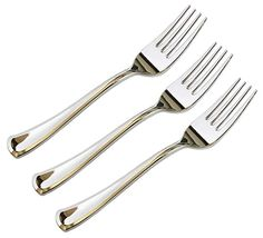 Pack of 1 40//Pack Reflections WNAREF320FKBAGRI Heavyweight Plastic Utensils Silver Fork 7