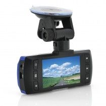 "1080p Full HD Car Dashcam ""Electra"" - 2.7 Inch Screen, G-Sensor, WDR, Wide Angle Recording"