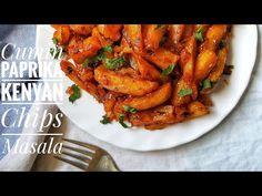 PAPRIKA CUMIN KENYAN CHIPS MASALA / Nairobi Kitchen Masala Chips, Masala Recipe, Spicy Recipes, Tandoori Chicken, Chicken Wings, Tasty, Snacks, Nairobi, Homemade Food