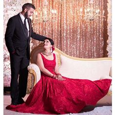 """""""There is a shade of red for every woman"""" Here's a look at our beautiful client Sharan in a gorgeous red gown designed by #Wellgroomedinc for her reception! Congratulations Sharan ❤️ ✨Are you looking to start the design process of the bridal outfit of your dreams? Or that showstopping party wear piece?  Email us at sales@wellgroomed.ca to set up a free consultation with one of our fashion consultants! Are you an International shopper? No problem! We offer telephone and Skype consultations as…"""