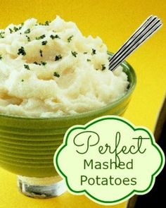 Delicious potato recipes provided by Potatoes USA. Learn why potatoes are the number one side-dish vegetable. Find fast, simple recipes to more advanced potato dishes. Homemade Mashed Potatoes Recipe, Buttermilk Mashed Potatoes, Make Ahead Mashed Potatoes, Garlic Mashed Cauliflower, Perfect Mashed Potatoes, Mashed Potato Recipes, Potato Dishes, Cubed Potatoes, Bon Appetit