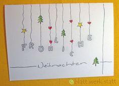 **Motiv: Lichterkette Hochwertige Klappkarte mit individuell auf deine Wünsche angepasster Gestaltung inclusive passendem Umschlag. DIE ganz besondere Karte zu Weihnachten oder schon in der...