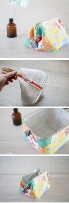 Step-To-Step Small Pretty Wallet Tutorial. http://fastmade.blogspot.com/2017/07/step-to-step-small-pretty-wallet.html