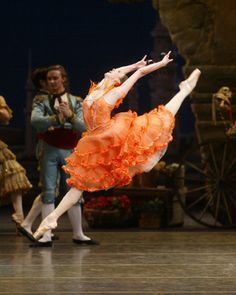 Nina Ananiashvili in Don Quixote.