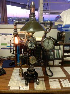 Steampunk lamp....