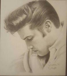 Priscilla Presley, Elvis Presley, Warren Clarke, Kelly Smith, King Of The World, Beautiful Drawings, Graceland, Most Beautiful Man, Unique Photo