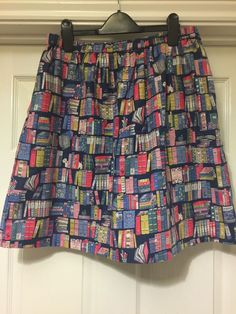 Cath Kidston Skirt Size M Medium Story Books -Sold Out!!