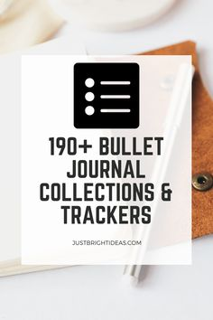 The super fun part of your bujo is the trackers and collections! Choose from our HUGE list of bullet journal ideas 2020. So many things to track in your bullet journal you might not have thought of! Bullet Journal Tracking, Bullet Journal Weekly Layout, Bullet Journal Ideas Pages, Bullet Journal Spread, Journal Prompts, Bullet Journal Inspiration, Journal Pages, Journals, Pinterest Website