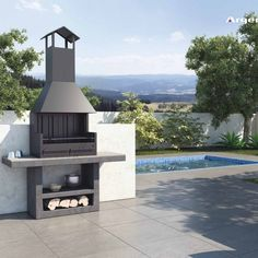 Barbecues archivos - Argemi prefabricatsArgemi prefabricats When historic inside concept, the particular pergola may be Outdoor Barbeque, Outdoor Oven, Diy Outdoor Kitchen, Outdoor Dining, Outdoor Decor, Parrilla Exterior, Barbecue Design, Stainless Steel Hood, Bbq Set