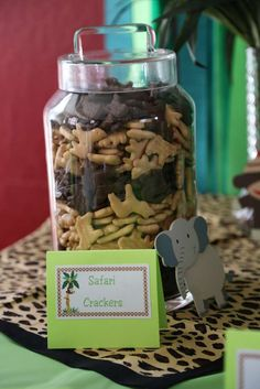 Jungle/Safari Shower Baby Shower Party Ideas | Photo 9 of 30 | Catch My Party