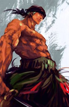 One Piece - Roronoa Zoro Zoro One Piece, One Piece Fanart, One Piece Anime, Roronoa Zoro, Whyt Manga, Onii San, One Peace, Monkey D Luffy, Animes Wallpapers