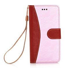 iPhone 6 Case KINGCOOL(TM) Elegant Flower Pattern Button Design Wallet Type PU Leather Flip Stand Hard Case Cover for Apple iPhone 6 4.7 Inch(Pink) Specially designed for Apple iPhone 4.7 inch Made of high quality PU leather material+magnetic flip design Includes slots to store your credit cards / business cards Provides great protection with easy installation Full access to all functions
