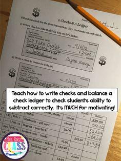 Mrs. Renz' Class: Teach Financial Literacy!