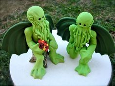 Wedding cake toppers. <3