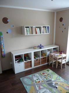 Ikea v dětském pokoji