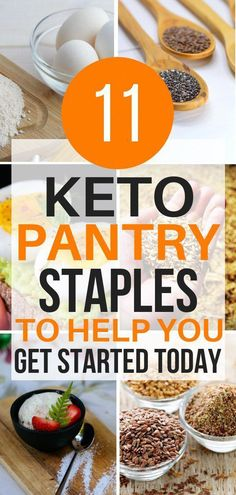 Almond flour, xanthum gum, flaxseed and more! These keto pantry staples are the best! Now I have some great keto pantry staples to get me going on a Ketogenic diet. Keto Diet List, Starting Keto Diet, Ketogenic Diet Plan, Ketogenic Diet For Beginners, Keto For Beginners, Diet Food List, Ketogenic Recipes, Low Carb Recipes, Diet Recipes