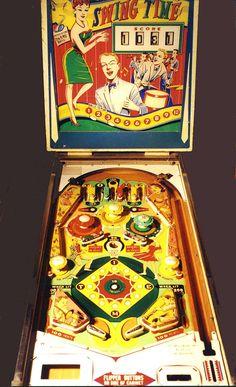"1963 Swing Time ""Williams""Pinball Machine"