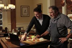 "This is where Henry see Abes profile on a dating site. Ioan Gruffudd and Judd Hirsch -  - 'Forever' Season 1, episode 2: 'Look Before You Leap' photos When the police deem a death Henry thinks to be a homicide a suicide, he and Jo investigate on ""Look Before You Leap,"""