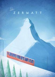 Zermatt - Henry Rivers - Leinwandbild