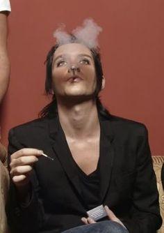brian molko smoking